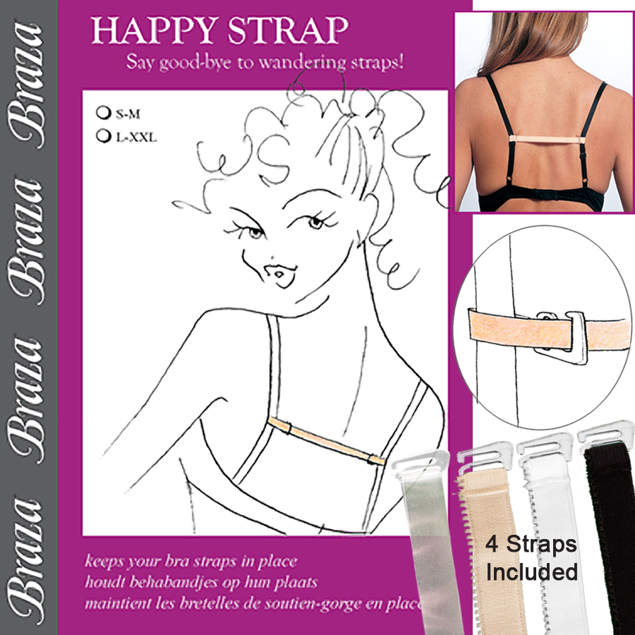 Braza Happy Straps by Manhattan Wardrobe Supply