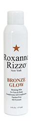 5 Essential Beach Glow Products Roxanne Rizzo NY Self-Tanning Mist-Bronze Glow by MWS Pro Beauty