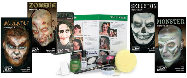 Educational Mehron Kits Character Kits by MWS Pro Beauty