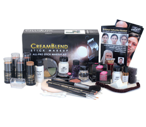 CreamBlend Stick Makeup Educational Mehron Kits by MWS Pro Beauty