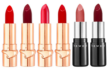 Julie Hewett Noir Collection Lipstick for Valentine's Day by MWS Pro Beauty
