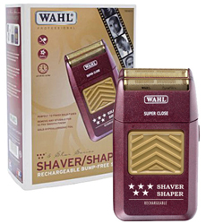 Wahl 5 Star Rechargeable Shaver/Shaper fir Valentine's Day by MWS Pro Beauty