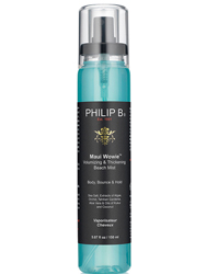 NY Fashion Week Philip B Maui Wowie Volumizing and Thickening Beach Spray by MWS Pro Beauty