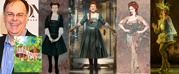2016 Tony Awards Nominations Gregg Barnes Tuck Everlasting by Manhattan Wardrobe Supply
