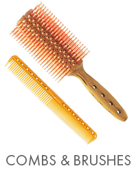 Y.S. Park Combs And Brushes by MWS Pro Beauty