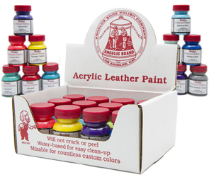 Do-It-Yourself Angelus Paint Kits by Manhattan Wardrobe Supply