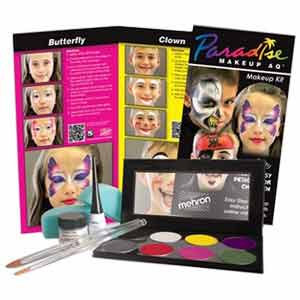 Do-It-Yourself Mehron Paradise AQ Face Painting Makeup Kit Children's Premium by Manhattan Wardrobe Supply