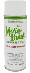 Movie Paint Permanent Spray Paint Chroma Green  by Manhattan Wardrobe Supply