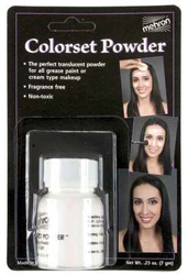Halloween Mehron Colorset Powder by MWS Pro Beauty