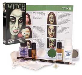 Halloween Mehron Witch Character Kit by MWS Pro Beauty