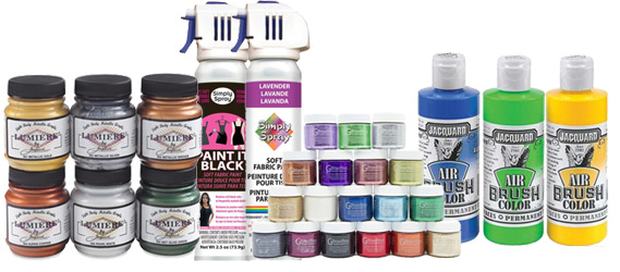 Comic Con Fabric Paints by Manhattan Wardrobe Supply