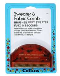 Closet Solutions D-Fuzz it Sweater Comb by Manhattan Wardrobe Supply