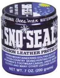 Winter Essentials Sno-Seal Beeswax Leather Protector Paste by Manhattan Wardrobe Supply