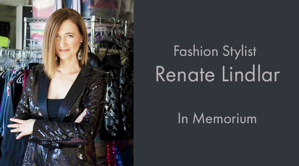 Fashion Stylist Renate Lindlar: In Memorium by Manhattan Wardrobe Supply
