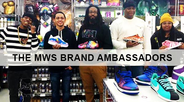 Sneaker Artist Contest Winner by Manhattan Wardrobe Supply