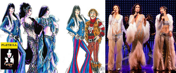 The Cher Show 2019 Tony Awards Costume Nominations by Manhattan Wardrobe Supply