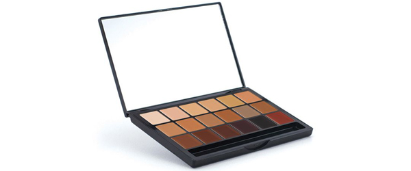 DeShawn Hatcher's Multicultural Makeup Graftobian HD Glamour Creme Super Palette - Inclusion by MWS Pro Beauty