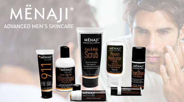 Menaji, Men's Skincare Made Simple by MWS Pro Beauty