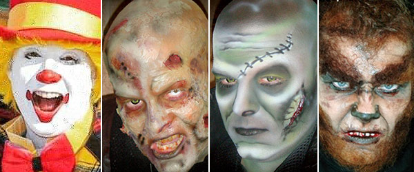 Mehron Character Kits Group Halloween Makeup And Character Kits by MWS Pro Beauty