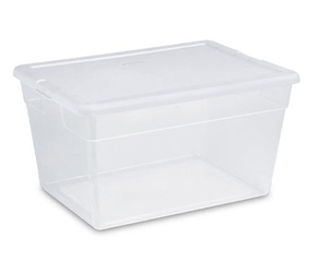 Sterilite Storage Box Our MWS Employee Products by Manhattan Wardrobe Supply