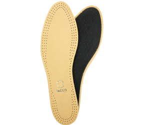 Tacco Full Leather w/Charcoal Cushion Bottom Insole Our MWS Employee Favorite Products by Manhattan Wardrobe Supply