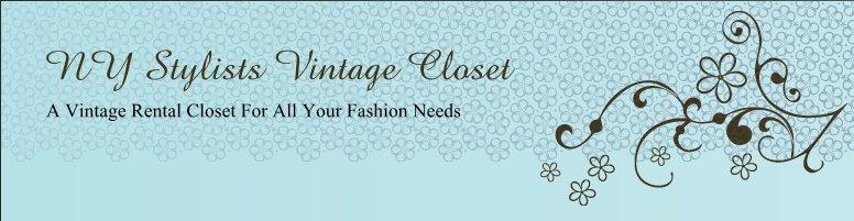NY Stylists Vintage Closet
