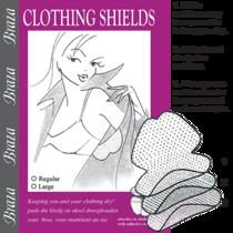Braza Disposable Dress Shield by Manhattan Wardrobe Supply