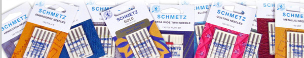 Group of schmetz needles by Manhattan Wardrobe Supply