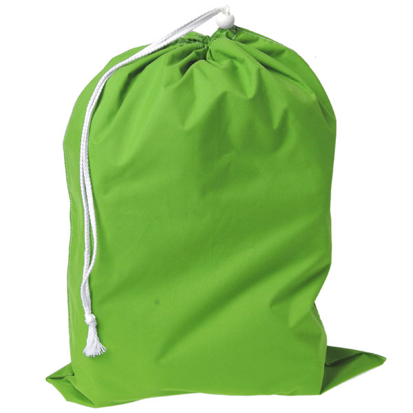 Lime Green Laundry Bag by Manhattan Wardrobe Supply