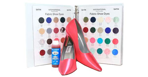 How to Dye Satin Shoes with International Fabric Shoe Dye by Manhattan Wardrobe Supply