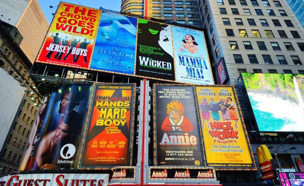 broadway shows in new york city