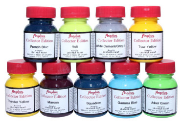 Angelus Collector Edition Sneaker Paints by Manhattan Wardrobe Supply