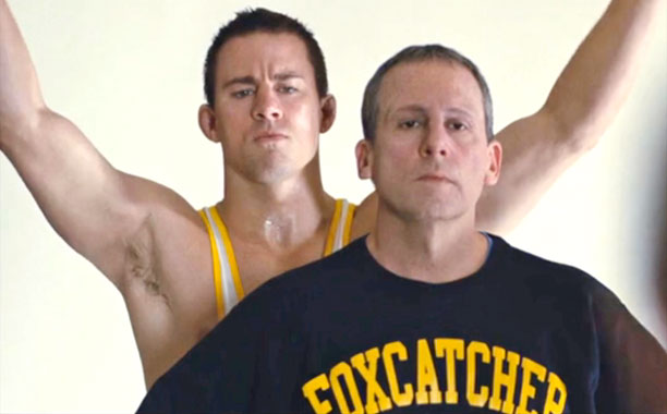 Foxcatcher Steve Carell and Channing Tatum