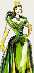 Stepmother Sketch by Manhattan Wardrobe Supply