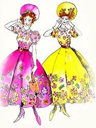 Cinderella Stepsisters Sketch by Manhattan Wardrobe Supply