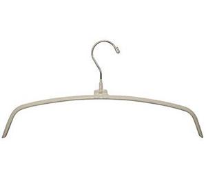 "Non-Slip Knitwear Hanger - white - 16"" must have fashion fall 2015 by Manhattan Wardrobe Supply"