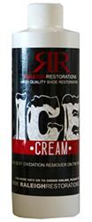 Raleigh Restorations Ice Cream Oxidation Remover-8 oz by Manhattan Wardrobe Supply
