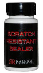 Raleigh Restorations Scratch Resistant Sealer by Manhattan Wardrobe Supply