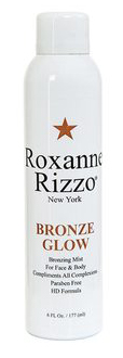 The beachy look with Roxanne Rizzo NY Self-Tanning Mist-Bronze Glow by MWS Pro Beauty