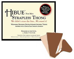 Shibue Presents Hibue For Men Strapless Thong by Manhattan Wardrobe Supply