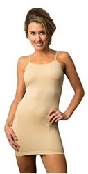 Shibue Non-Slip Cami Dress-Nude by Manhattan Wardrobe Supply
