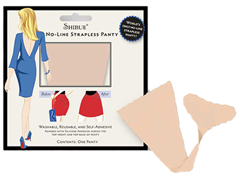 Shibue Strapless Panties by Manhattan Wardrobe Supply