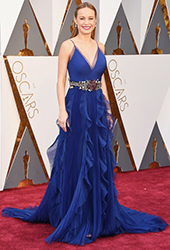 2016 Oscars Brie Larson by Manhattan Wardrobe Supply