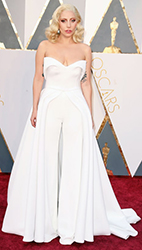 2016 Oscars Lady Gaga by Manhattan Wardrobe Supply
