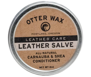 Winter Essentials Otter Was Leather Salve by Manhattan Wardrobe Supply