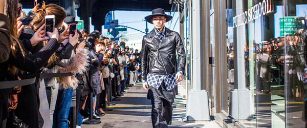 Fashion Week: Men's Public School by Manhattan Wardrobe Supply