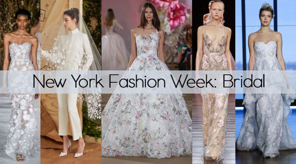 New York Fashion Week: Bridal by Manhattan Wardrobe Supply