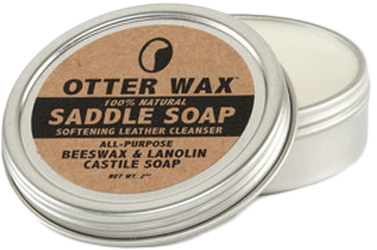 Otter Wax Saddle Soap by Manhattan Wardrobe Supply