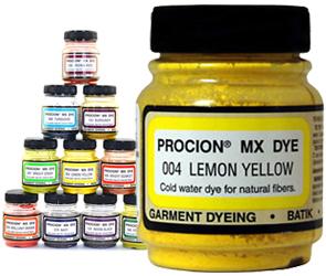 Do-It-Yourself Jacquard Procion MX by Manhattan Wardrobe Supply