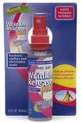 Traveling Light Wrinkle Release Plus by Manhattan Wardrobe Supply